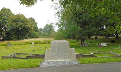 East Cowes civilian war grave and memorial