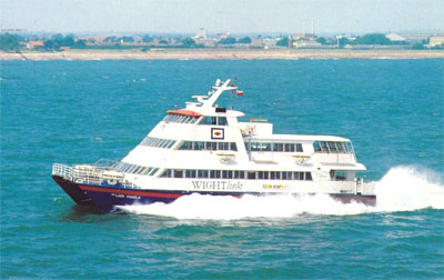 HSC Our Lady Pamela high speed passenger ferry Wightlink