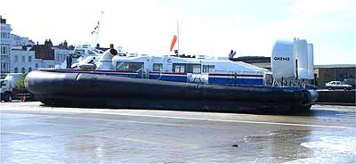 Hovertravel BHT130 hovercraft