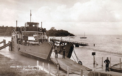 MV Wootton Car Ferry at Fishbourne