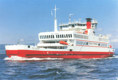 Original Red Osprey Car Ferry