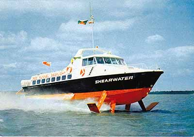 Shearwater Red Funnel Hydrofoil